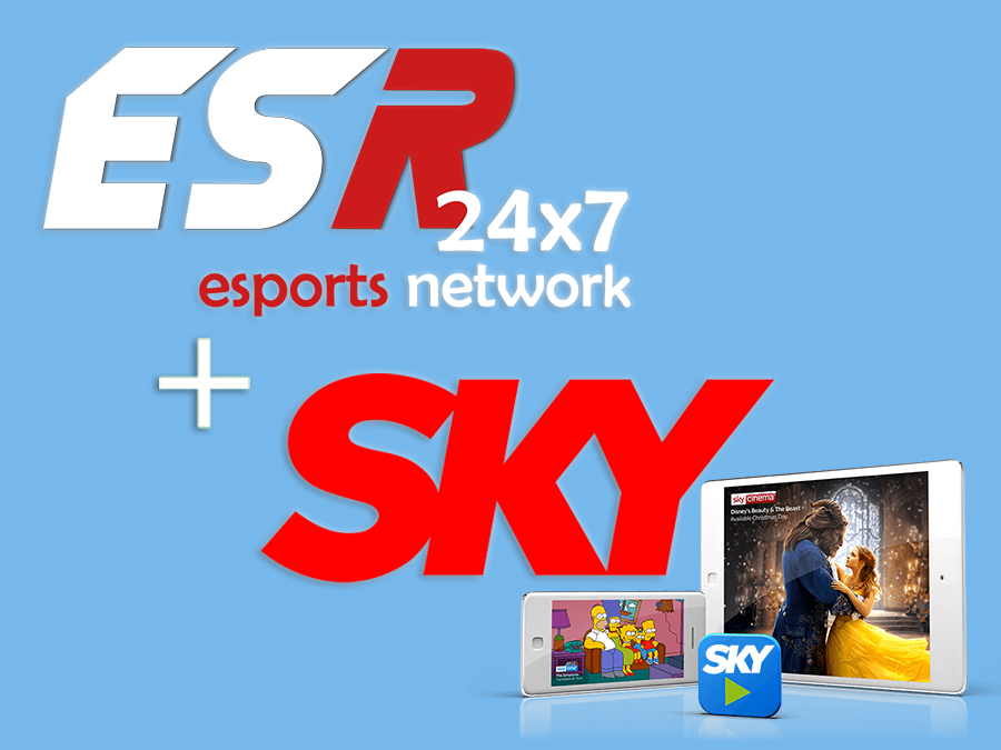 ESR launch on SKY TV